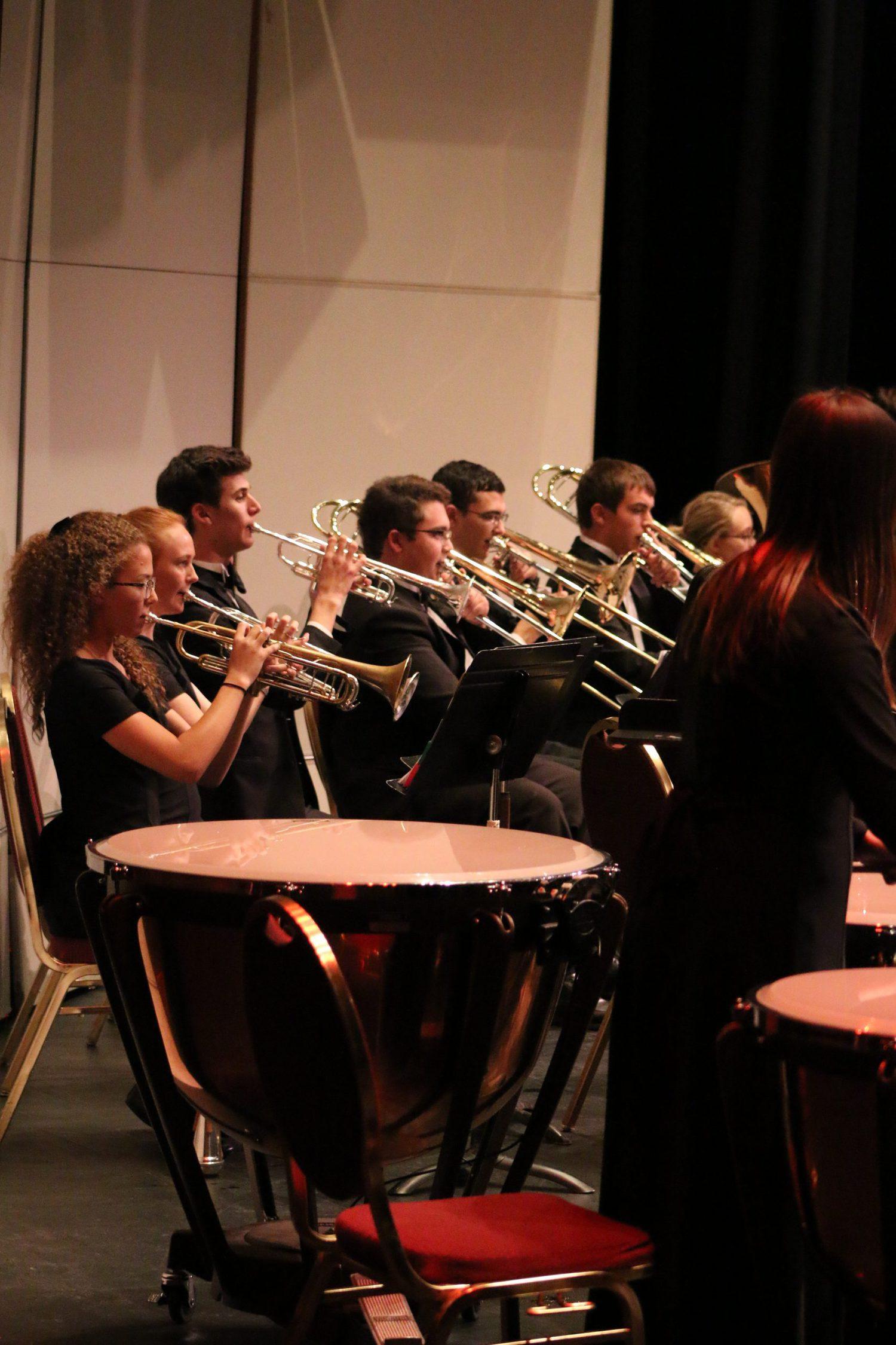 Symphonic Winds Trumpet Players